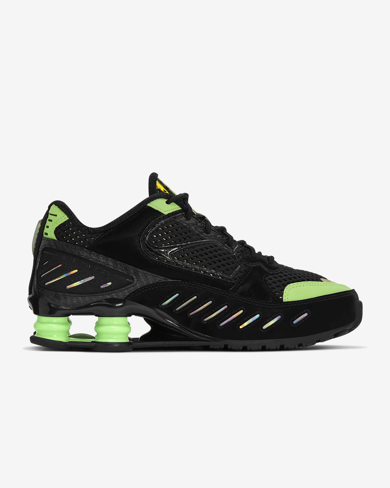 Nike W Shox Enigma SP black black lime blast