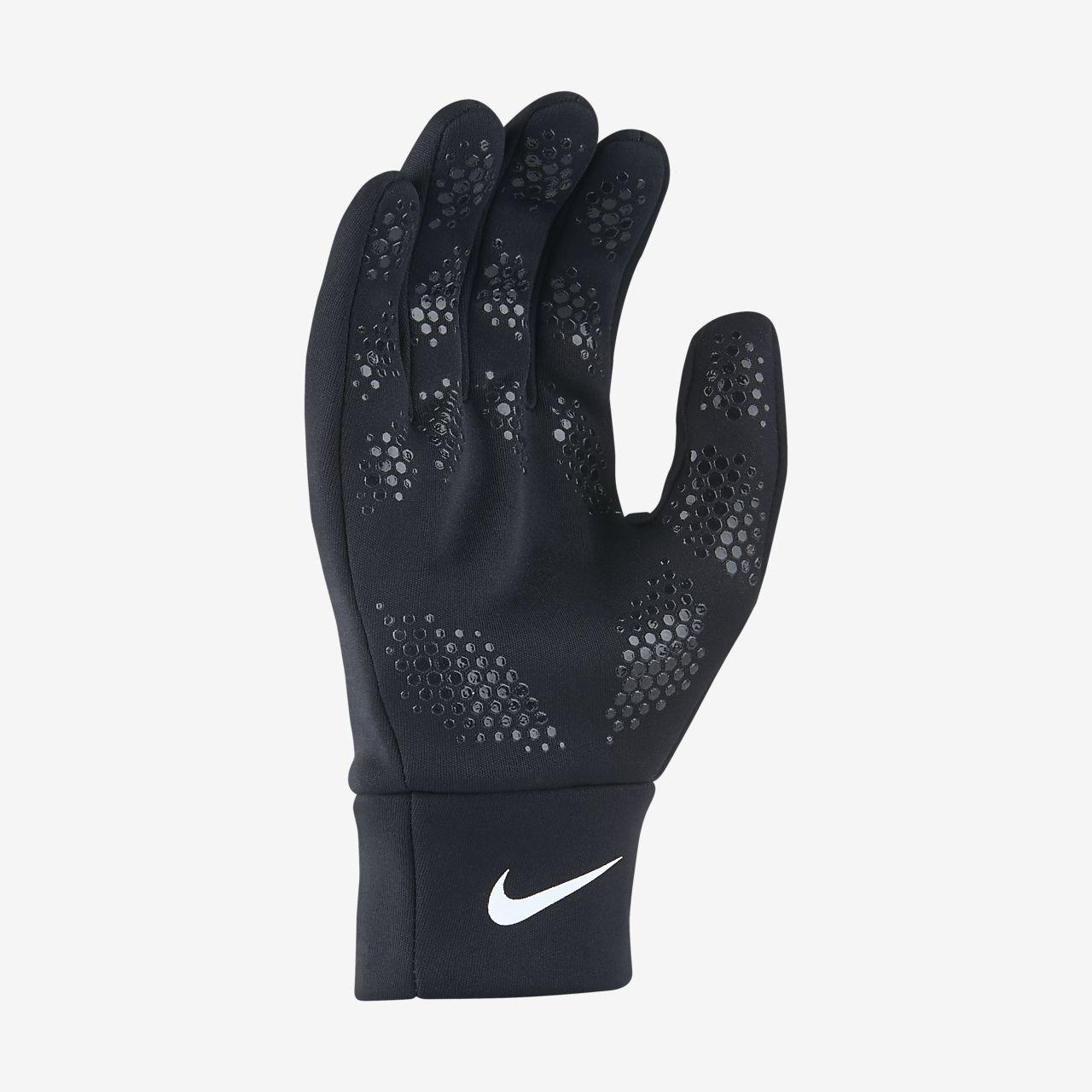 ... Nike HyperWarm Field Player Kids' Football Gloves