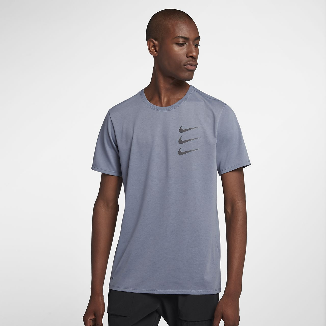 excellent quality 50% price authorized site Tee-shirt de running Nike Dri-FIT Run Division pour Homme
