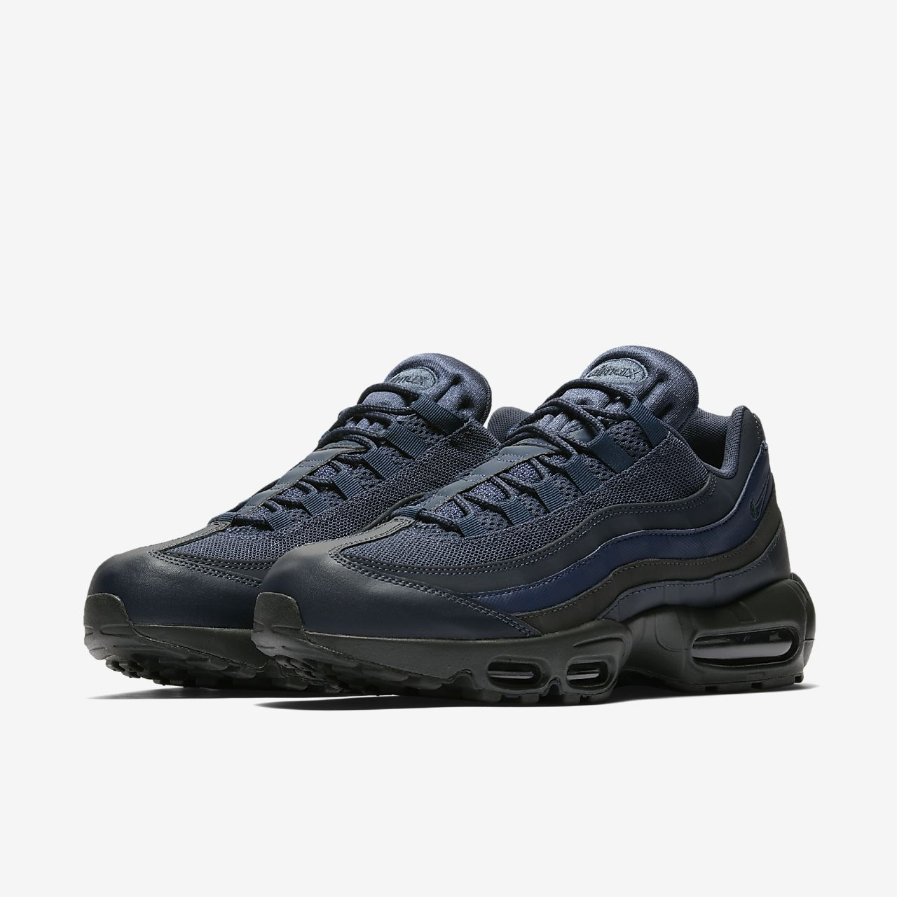 scarpa nike air max 95 essential squadron bluemidnight navy