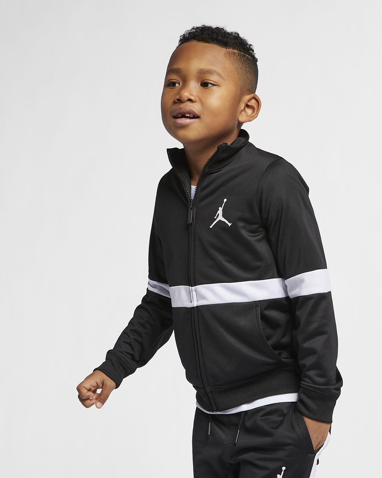 Bunda se zipem po celé délce Jordan Sportswear Diamond pro malé děti