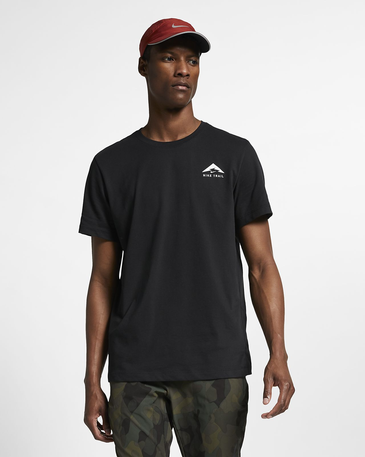 T-shirt da running Nike Trail Dri-FIT - Uomo