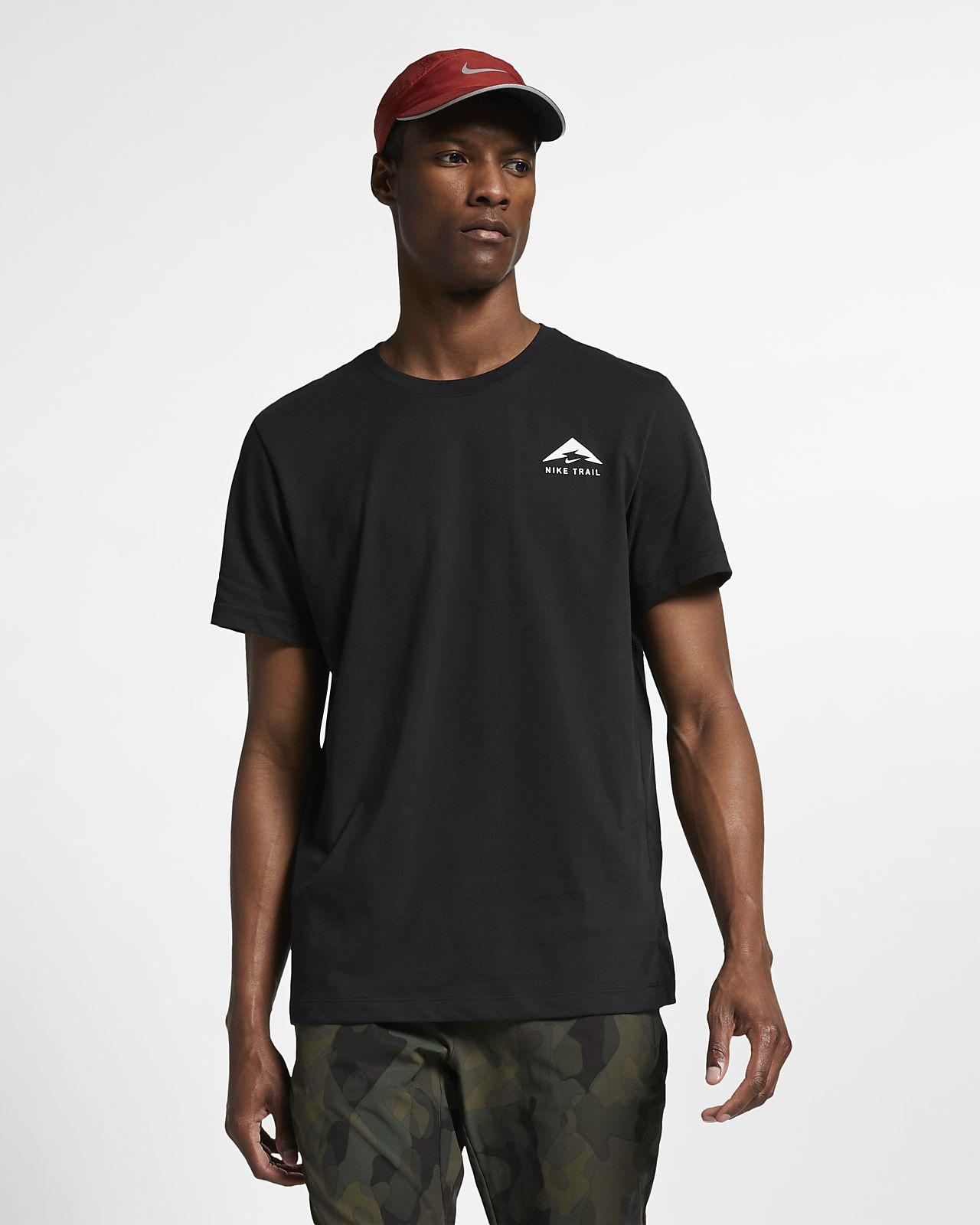 Tee-shirt de running Nike Trail Dri-FIT pour Homme
