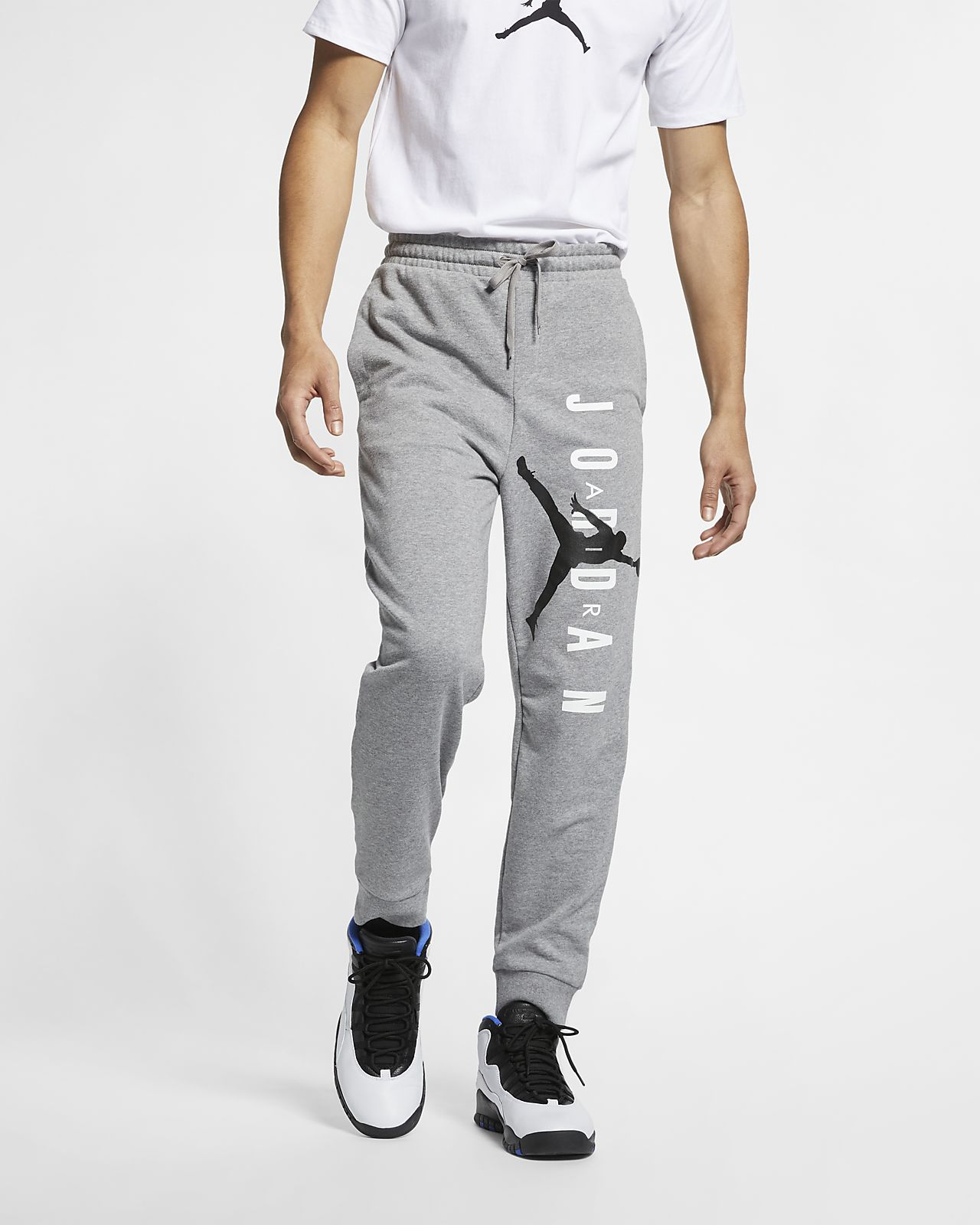3707e81e2b4b52 Jordan Jumpman Air Men s Lightweight Fleece Trousers. Nike.com GB
