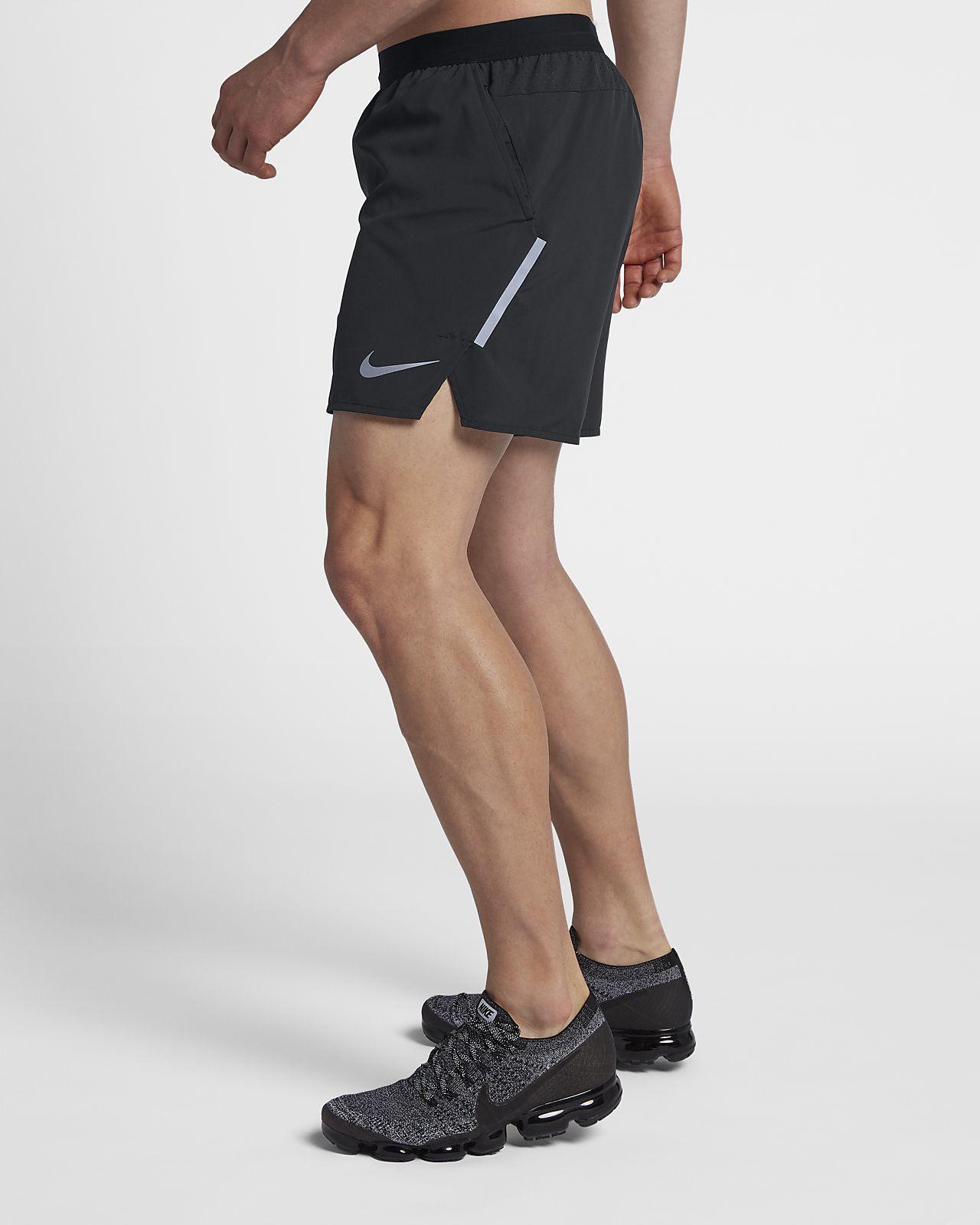 Short de running doublé Nike Flex Stride 12,5 cm pour Homme
