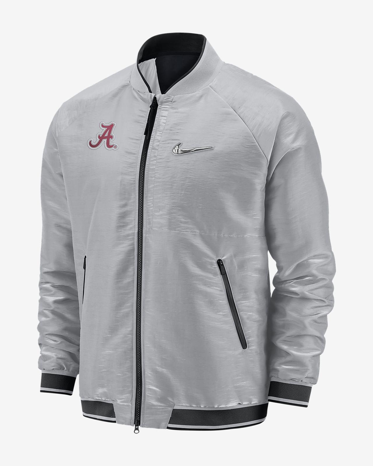 Nike Sideline Fuse CFP (Alabama) Men s Bomber Jacket. Nike.com df9da3268