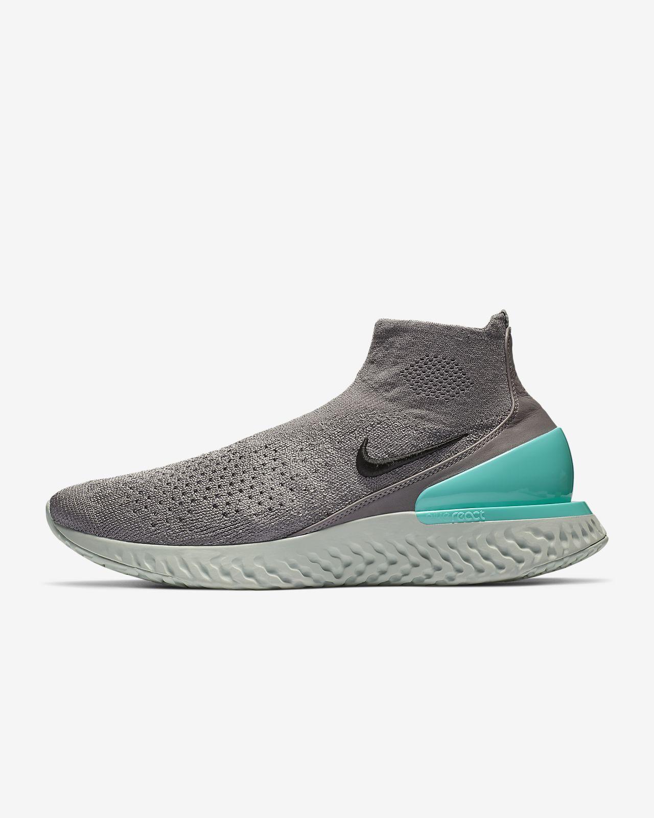 986bbb3c5d43 Nike Rise React Flyknit Running Shoe. Nike.com GB