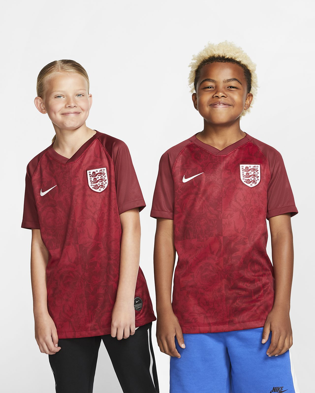 England 2019 Stadium Away Big Kids' Soccer Jersey