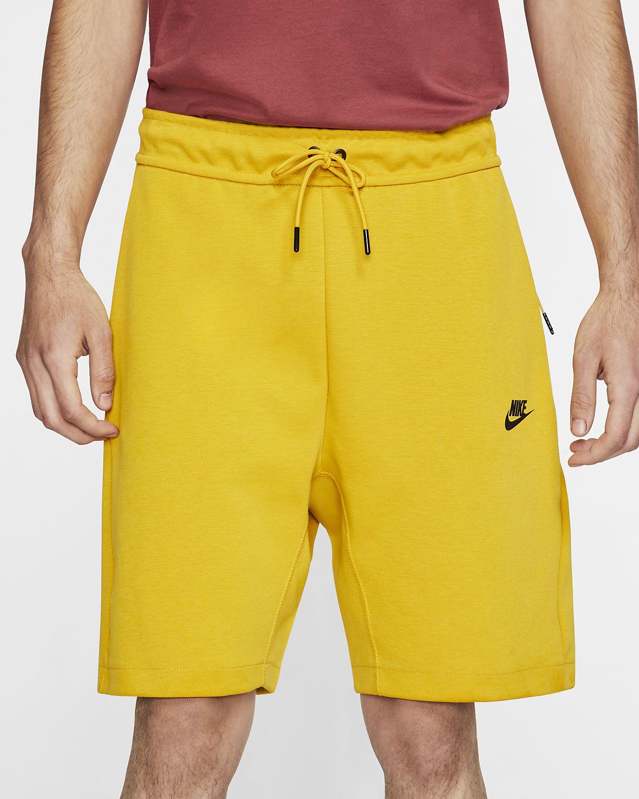 Shorts de tela Fleece para hombre Nike Sportswear Tech