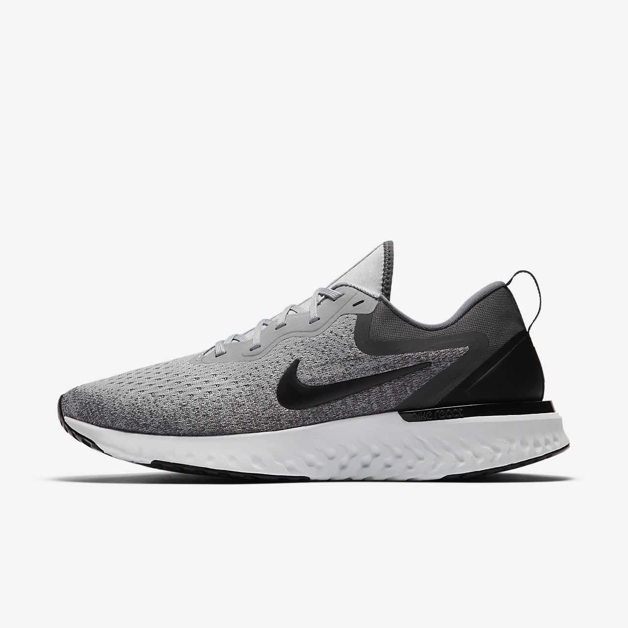 NEW Nike Odyssey React Cool Grey Dark Grey Pure Platinum Black White AO9819-003
