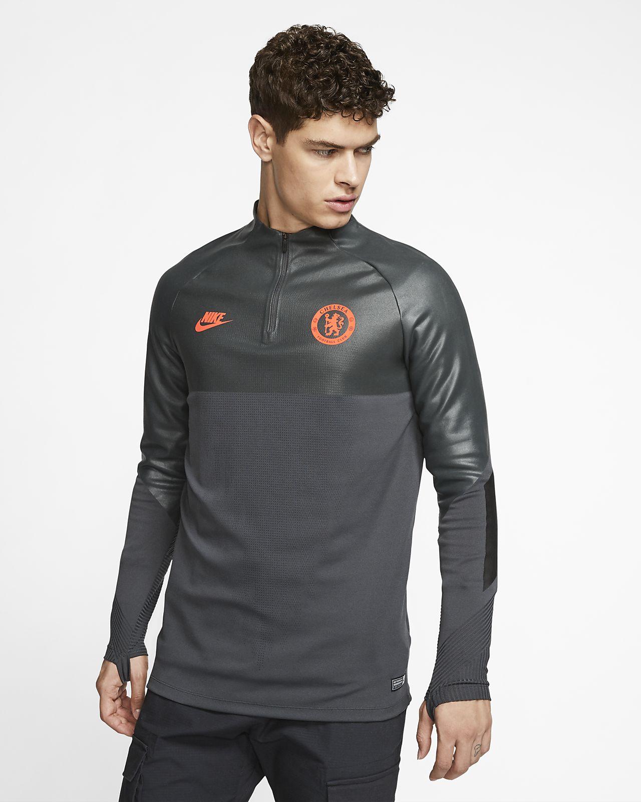Maglia da calcio per allenamento Nike VaporKnit Chelsea FC Strike - Uomo