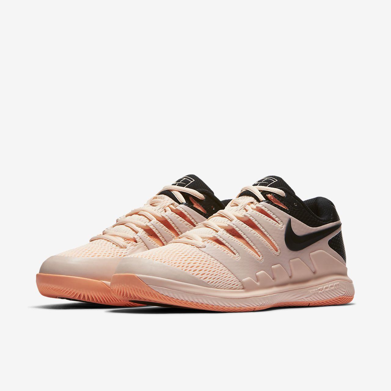 Nike Women's Air Zoom Vapor X Tennis Shoe 5Q4Wrm