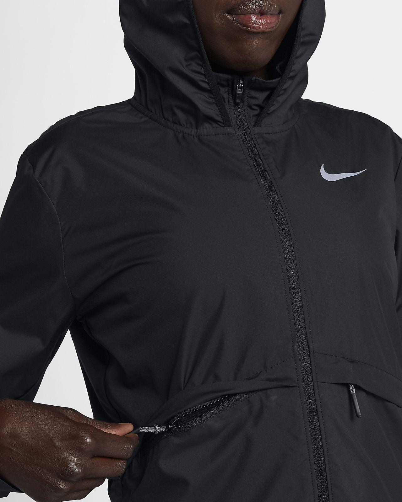 Nike Essential Chaqueta de running plegable para la lluvia Mujer