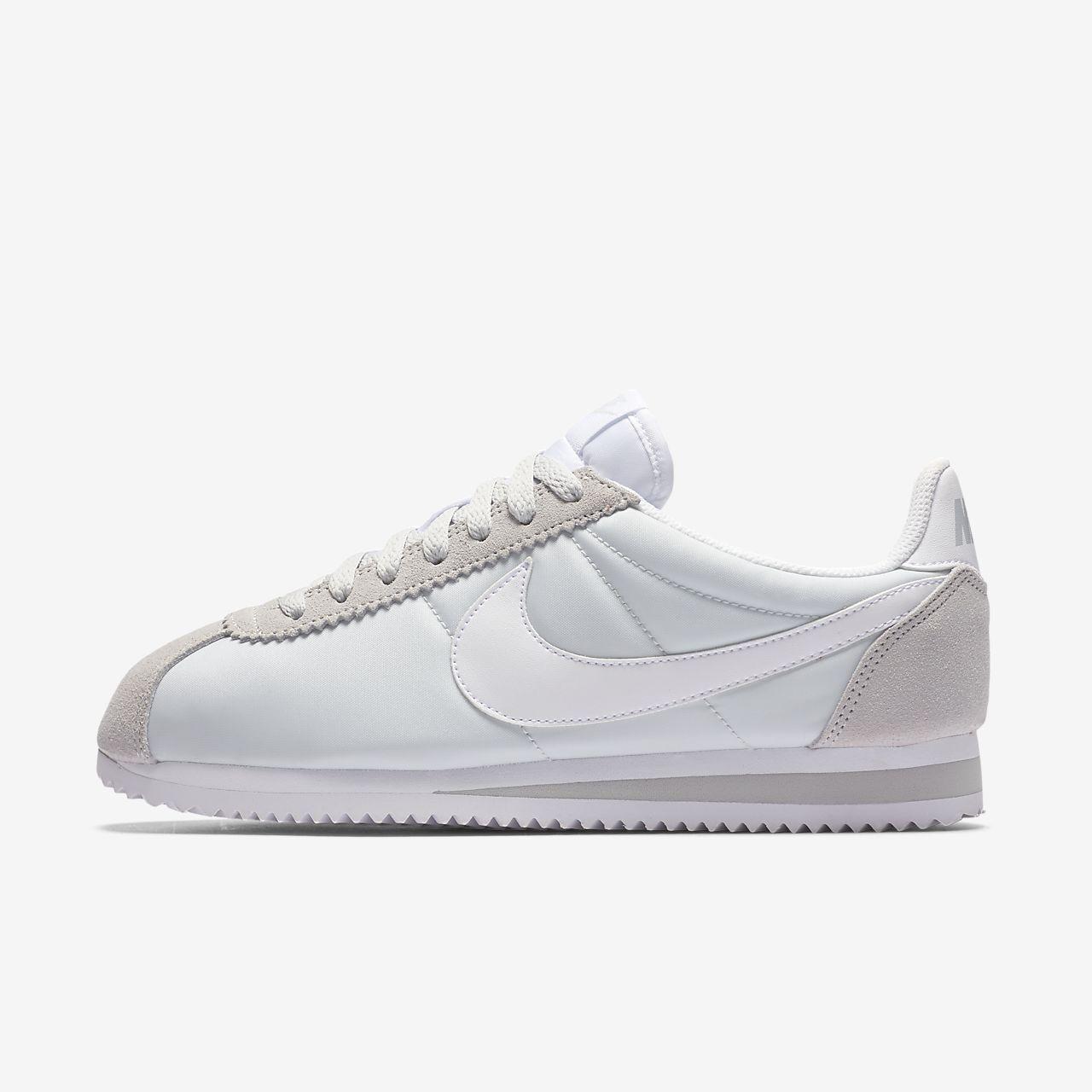 Wmns Nylon Classique Cortez - Chaussures De Sport Pour Femmes / Bleu Nike dOy9P