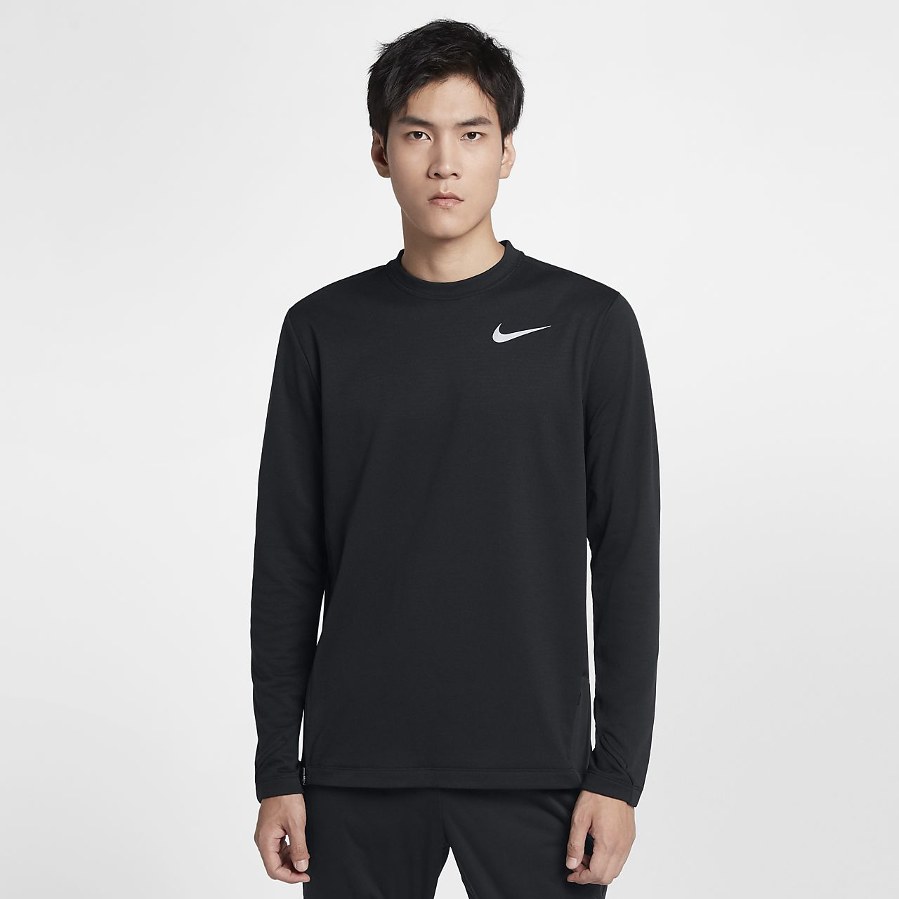311d245a Fitnessmode Nike Mens Therma Fit Dry Element Running Sphere Crew Shirt Save  50%! XL Sporttops
