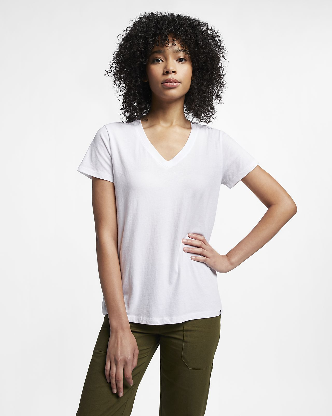 Hurley Solid Perfect V Women's T-Shirt