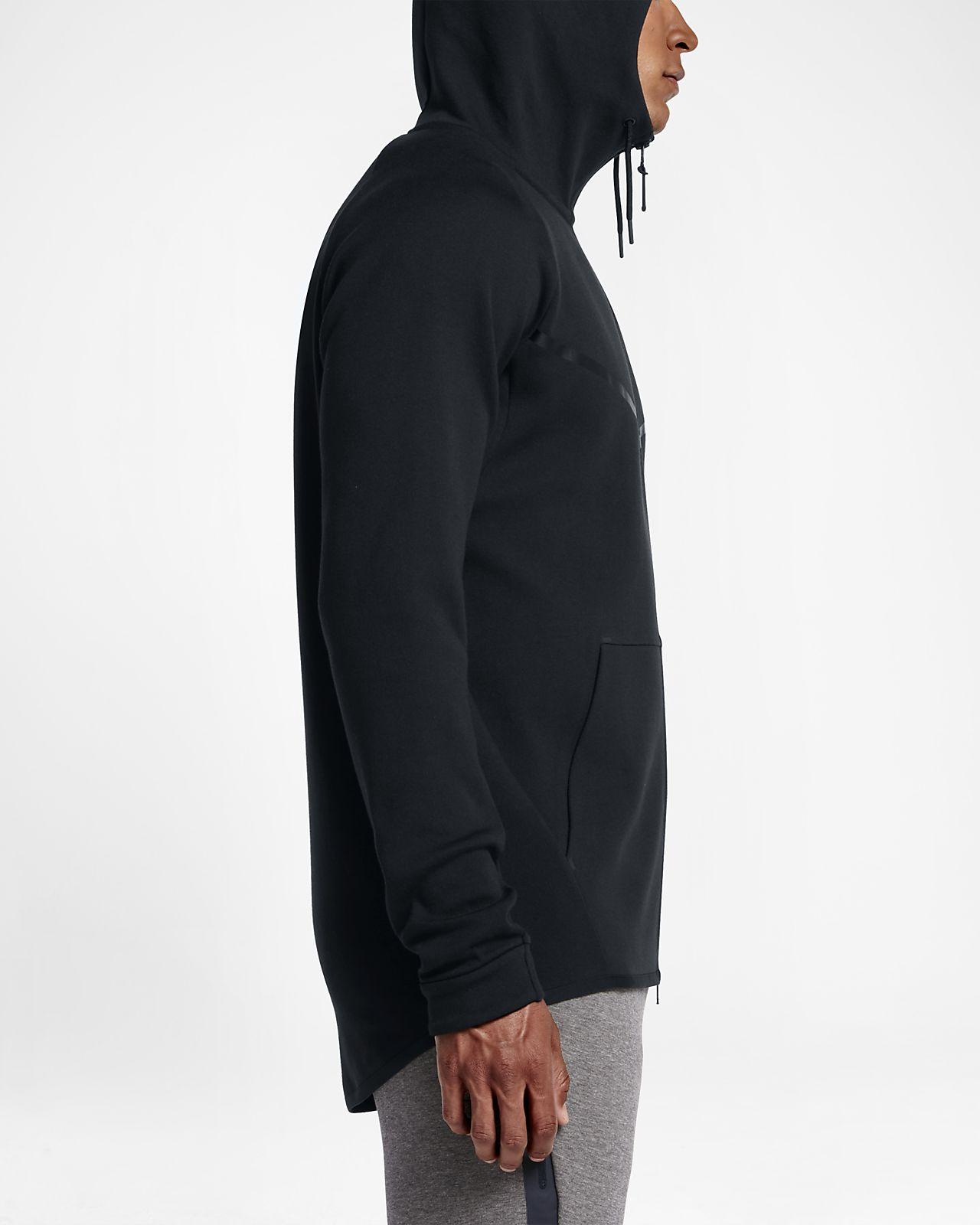 Nike AW77 Mens Fleece Full Zip Hoody Mens Hoodies Shop Mens Hoodies COLOUR-black