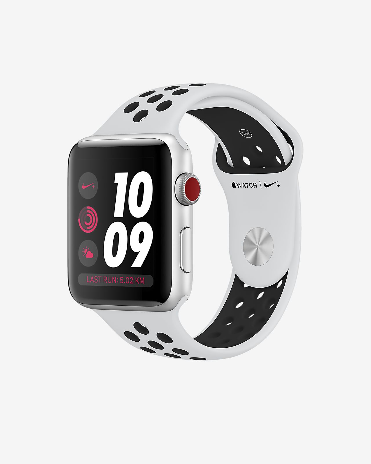 Apple Watch Nike+ Series 3 (GPS + Cellular) 42 mm Laufuhr