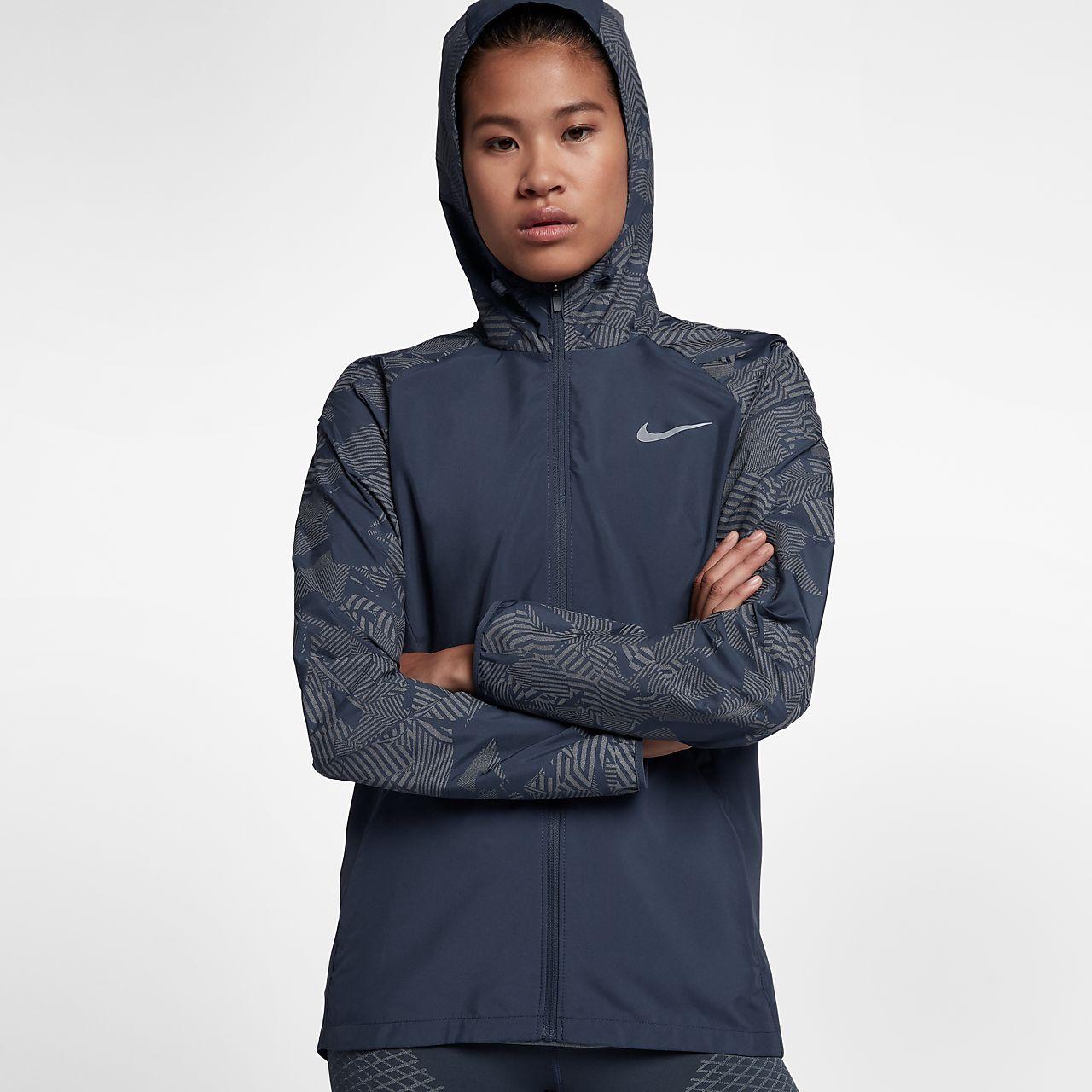 nike windbreaker women. nike essential flash women\u0027s reflective running jacket windbreaker women 7