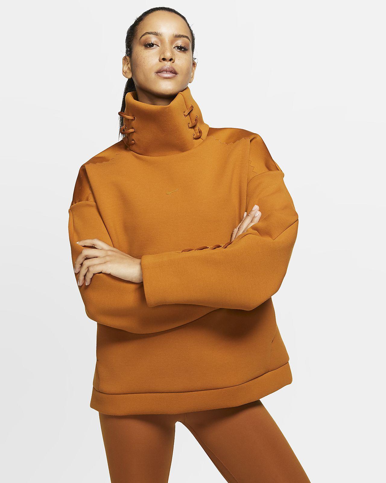 Nike 女子堆领训练上衣