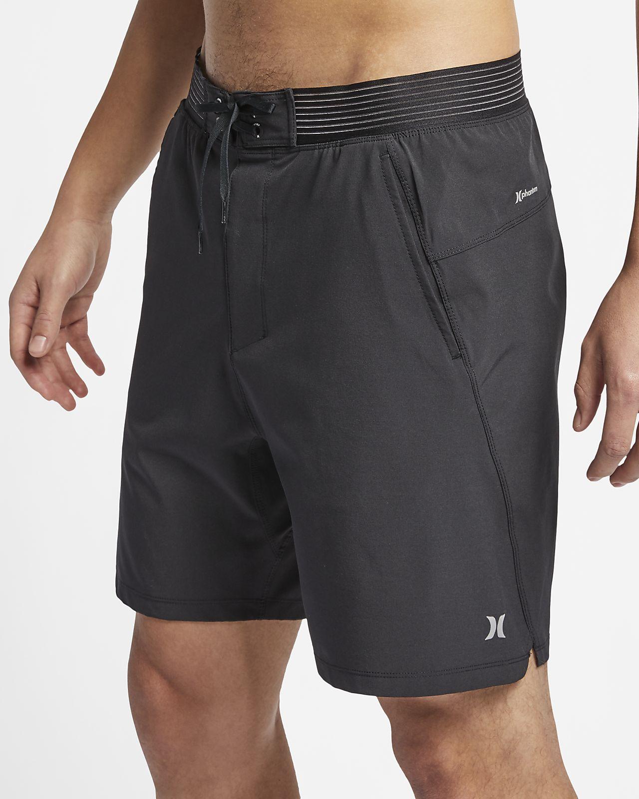 "Hurley Phantom Alpha Trainer Men's 18"" Shorts"