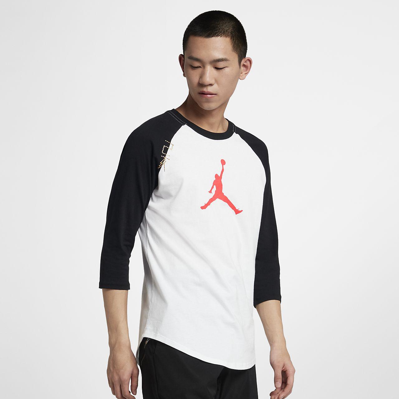 Jordan 男子七分袖T恤