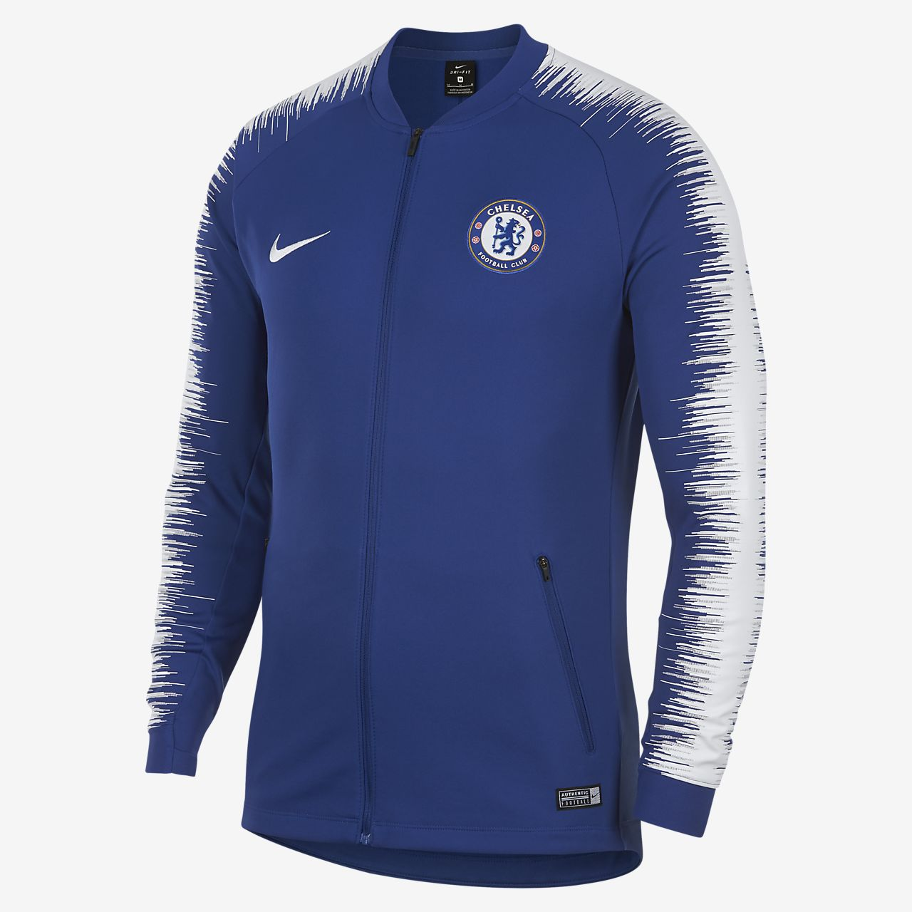 newest 9a3fd 65852 Chelsea FC Anthem Men's Football Jacket