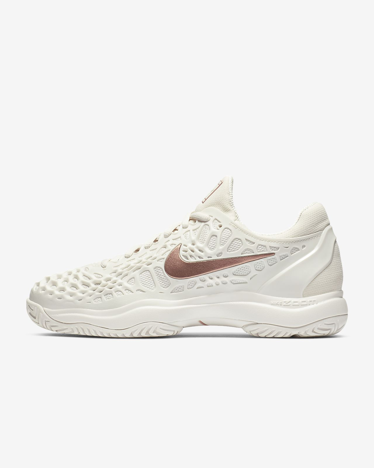 on sale 898a4 37cd3 NikeCourt Zoom Cage 3-hardcourt-tennissko til kvinder