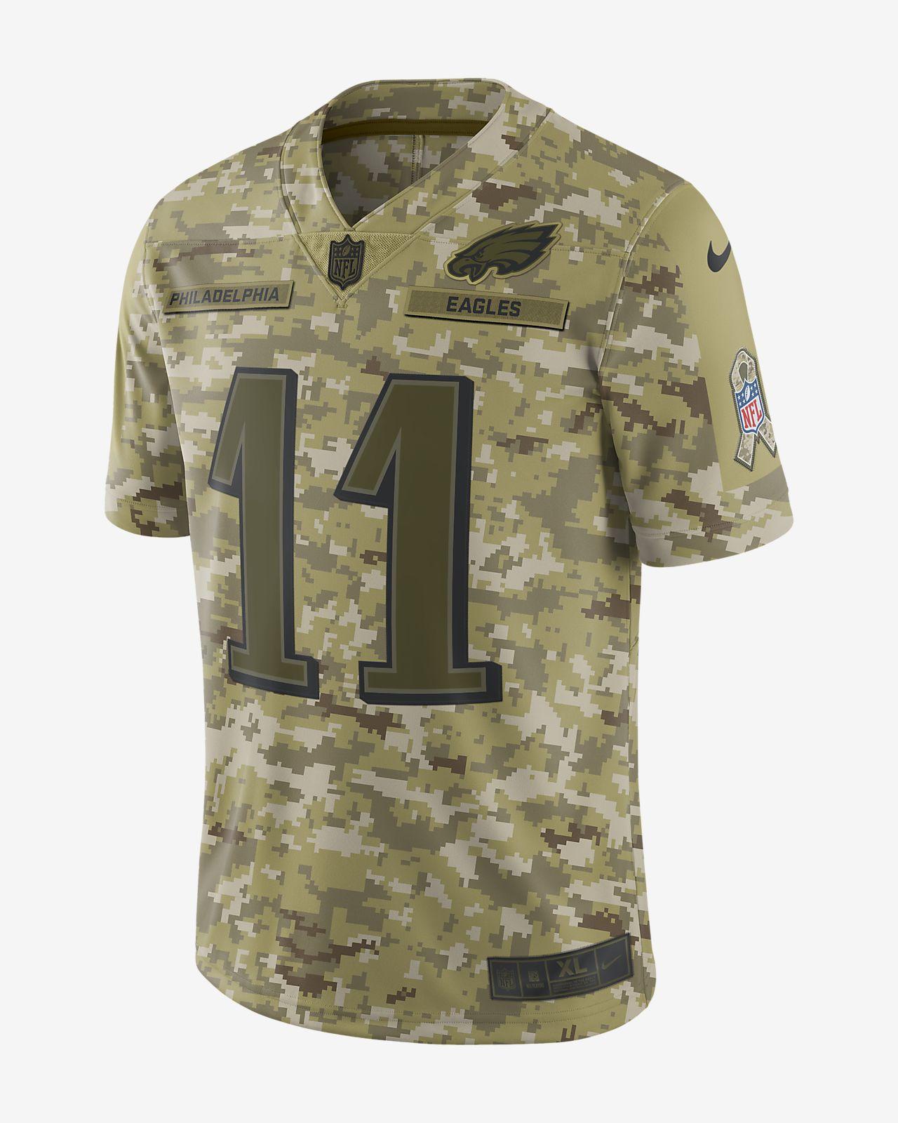 Men S Nike Olive Philadelphia Eagles Salute To Service Ko Performance Hoo