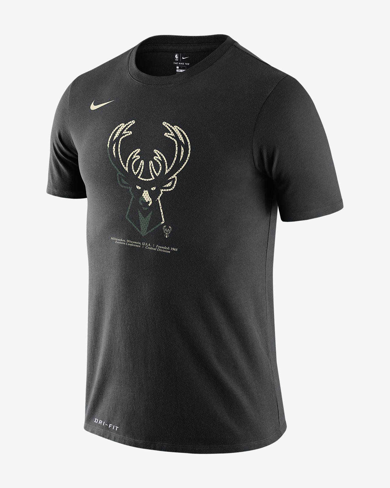 密尔沃基雄鹿队 Nike Dri-FITNBA 男子T恤