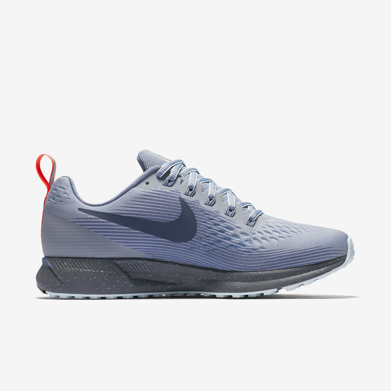 nike running shoes black air. nike air zoom pegasus 34 shield women\u0027s running shoe shoes black t