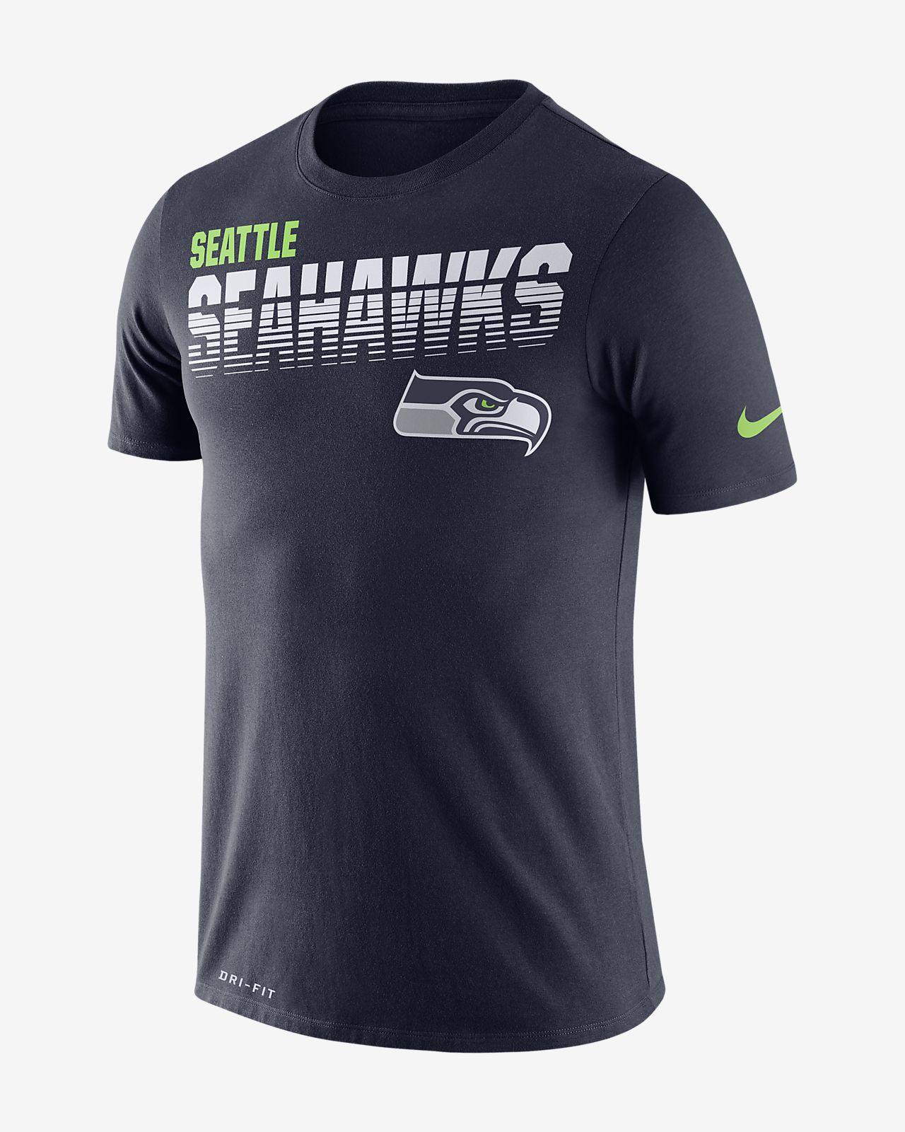 Kortærmet Nike Legend (NFL Seahawks)-T-shirt til mænd