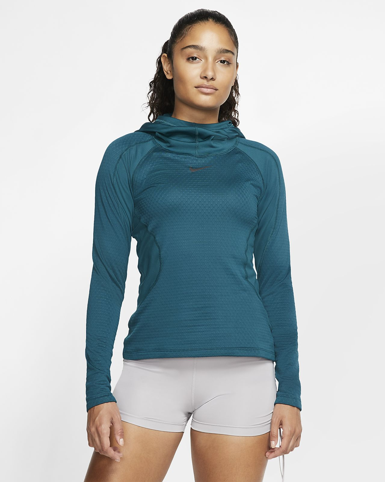 Felpa da training con cappuccio Nike Pro HyperWarm Hooded - Donna