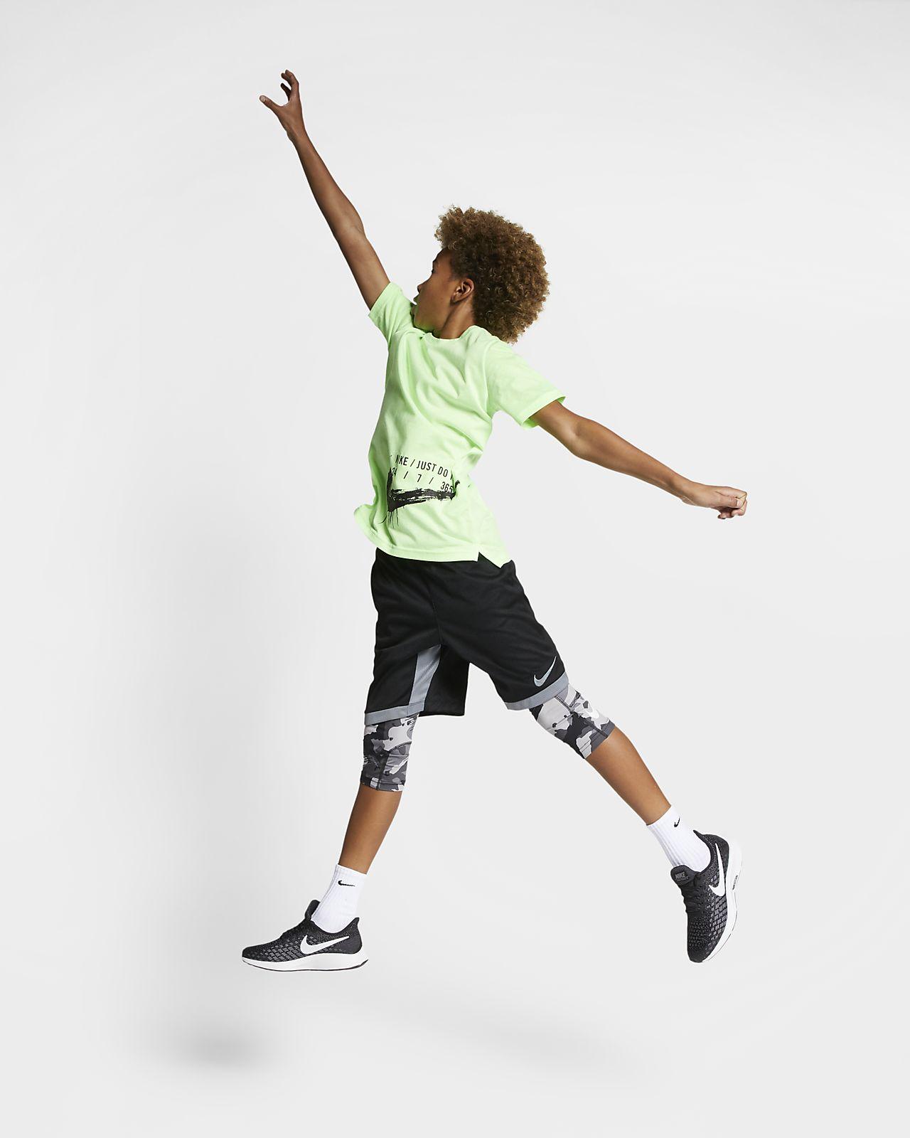 70b17e49 Nike Pro Big Kids' (Boys') 3/4-Length Camo Tights. Nike.com