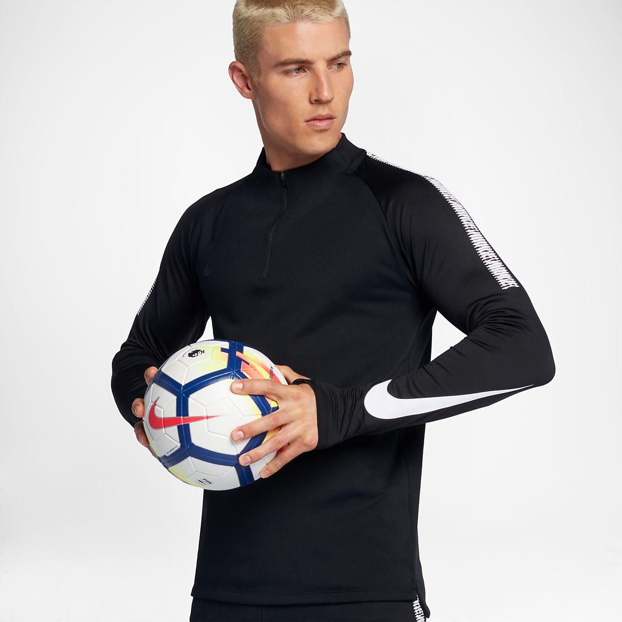 Nike - Football Training Squad Dry Drill - Top - Noir 859197-010 - NoirNIKE SPORTWEAR Em48rxvtW