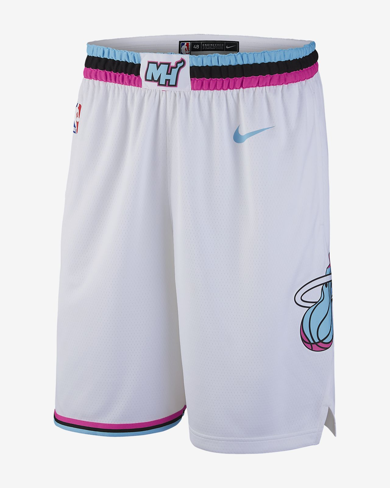 buy online 69679 10b89 Miami Heat City Jersey Shorts - Amnet