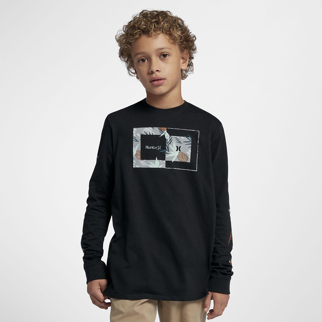 Hurley Sweet Days Big Kids' (Boys') Long Sleeve Shirt
