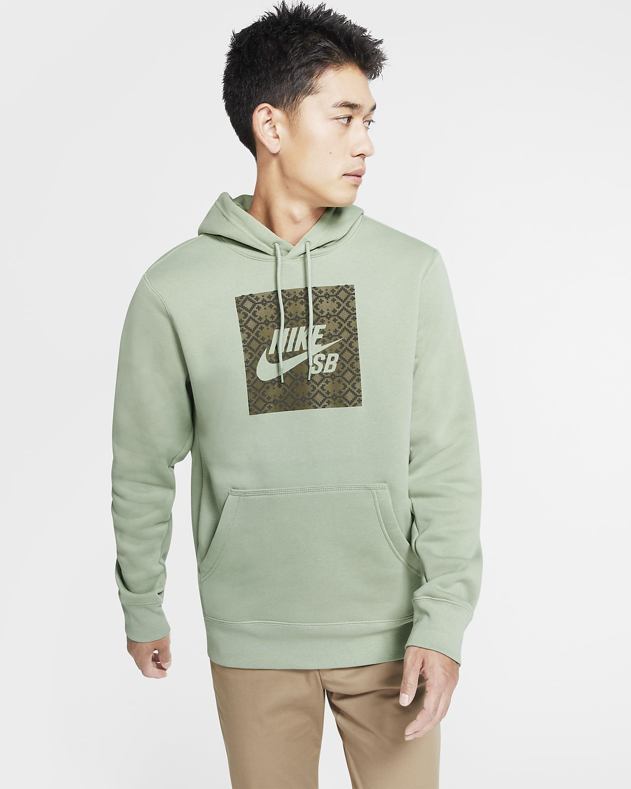 เสื้อสเก็ตบอร์ดมีฮู้ดผู้ชาย Nike SB