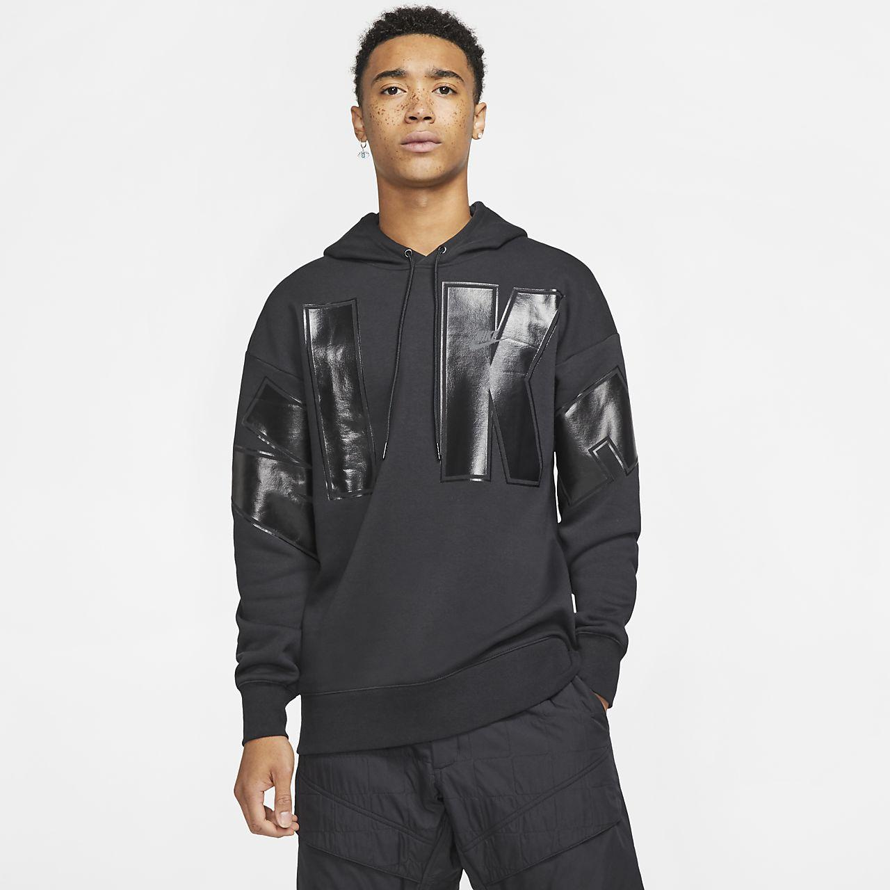 Φλις μπλούζα με κουκούλα Nike Sportswear
