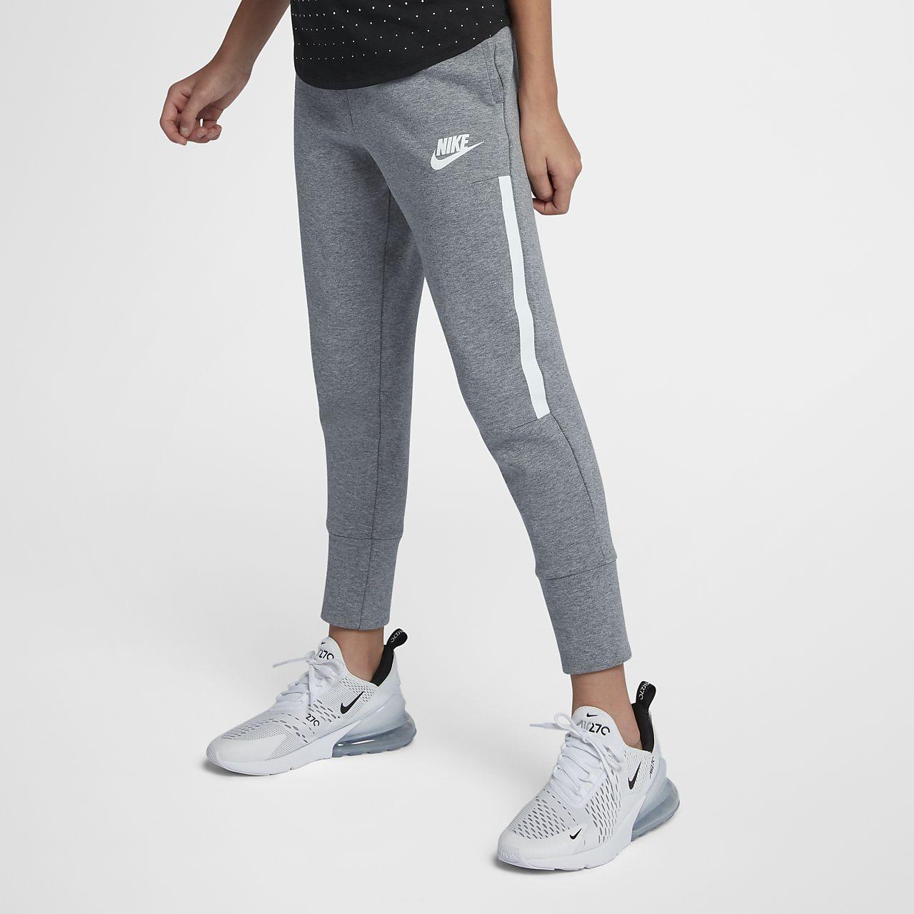 dbb403f0ba3 Nike Sportswear Tech Fleece Big Kids  (Girls ) Pants. Nike.com