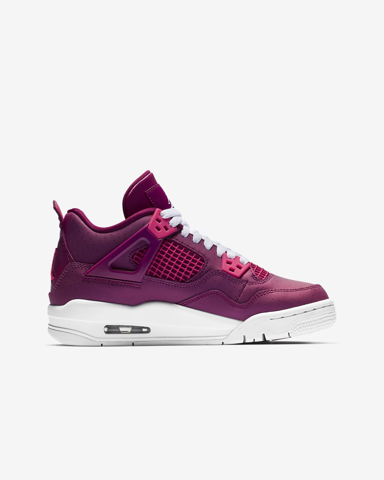sale retailer 3105f 4e074 ... Air Jordan 4 Retro Big Kids  Shoe