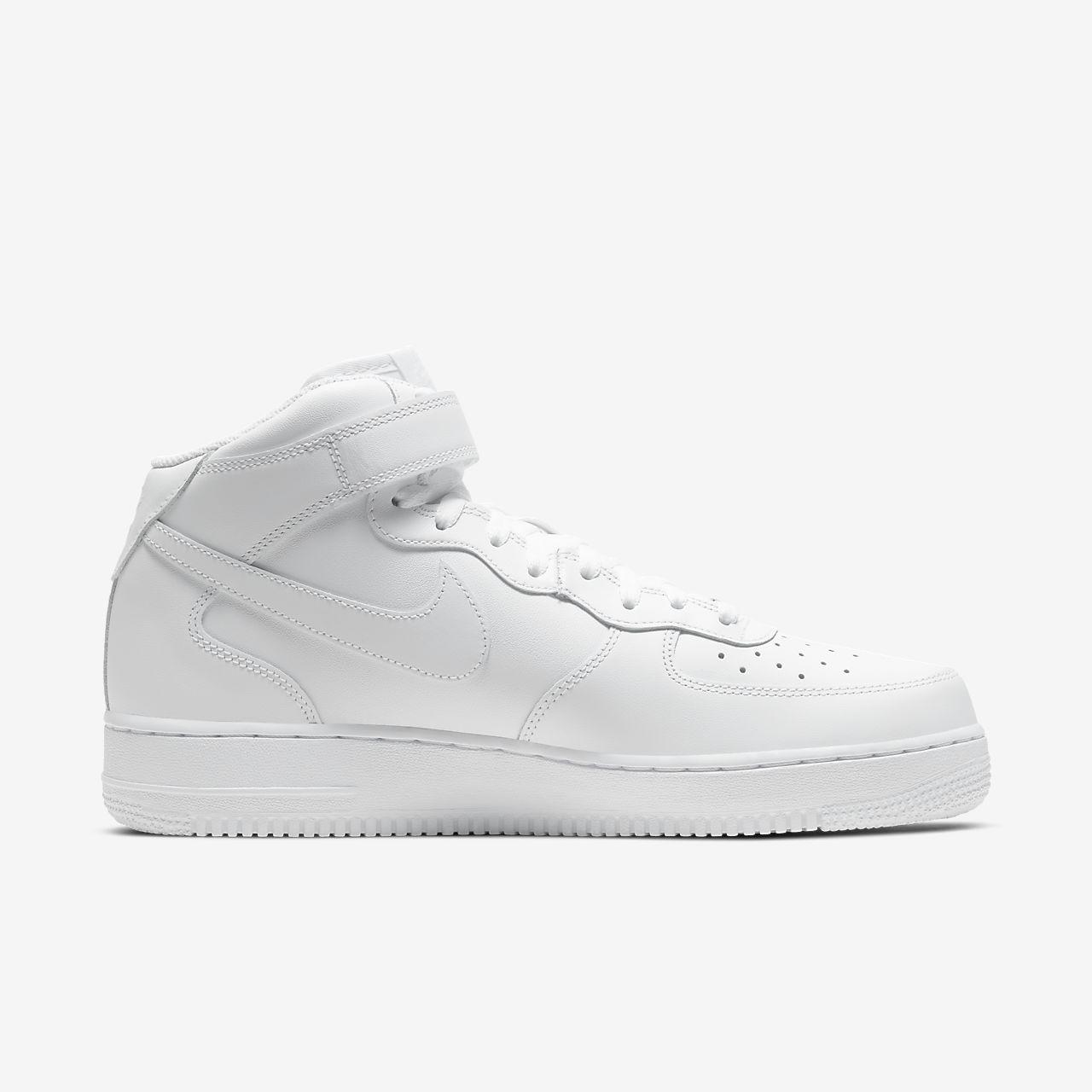 Nike Air Force 1 '07, Chaussures de Basketball homme, Blanc (White/White 111), 47.5 EU