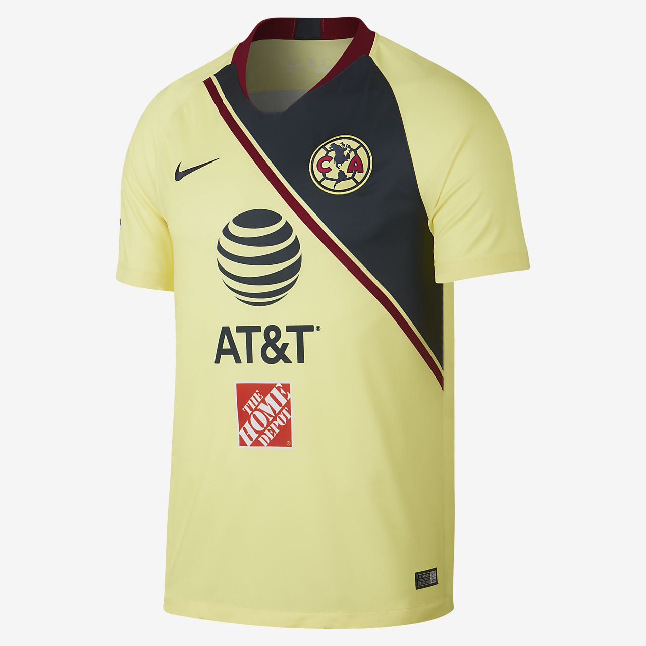 2018 19 Club America Stadium Home Men s Soccer Jersey. Nike.com e555be680