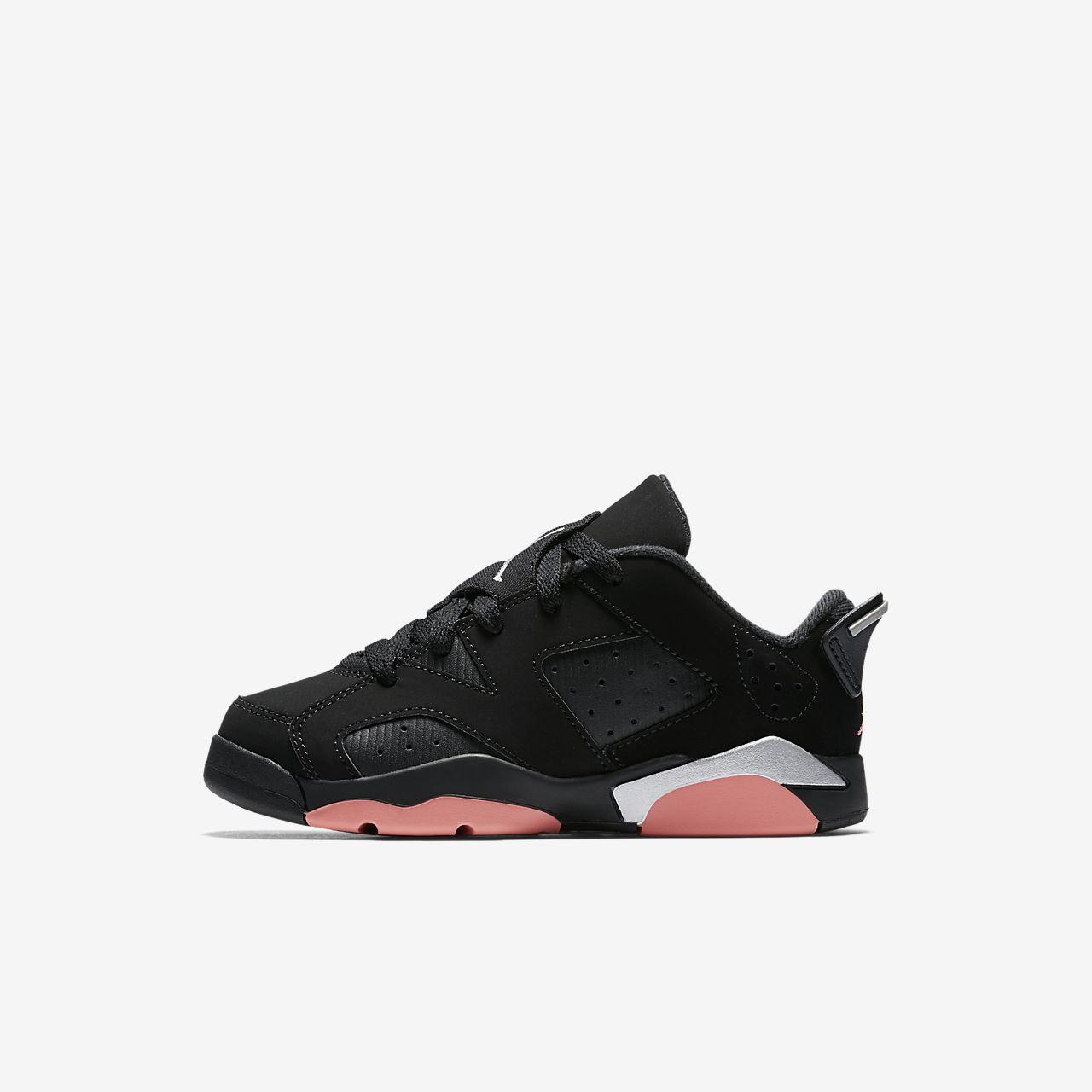 ... Air Jordan Retro 6 Low Preschool Kids Shoe