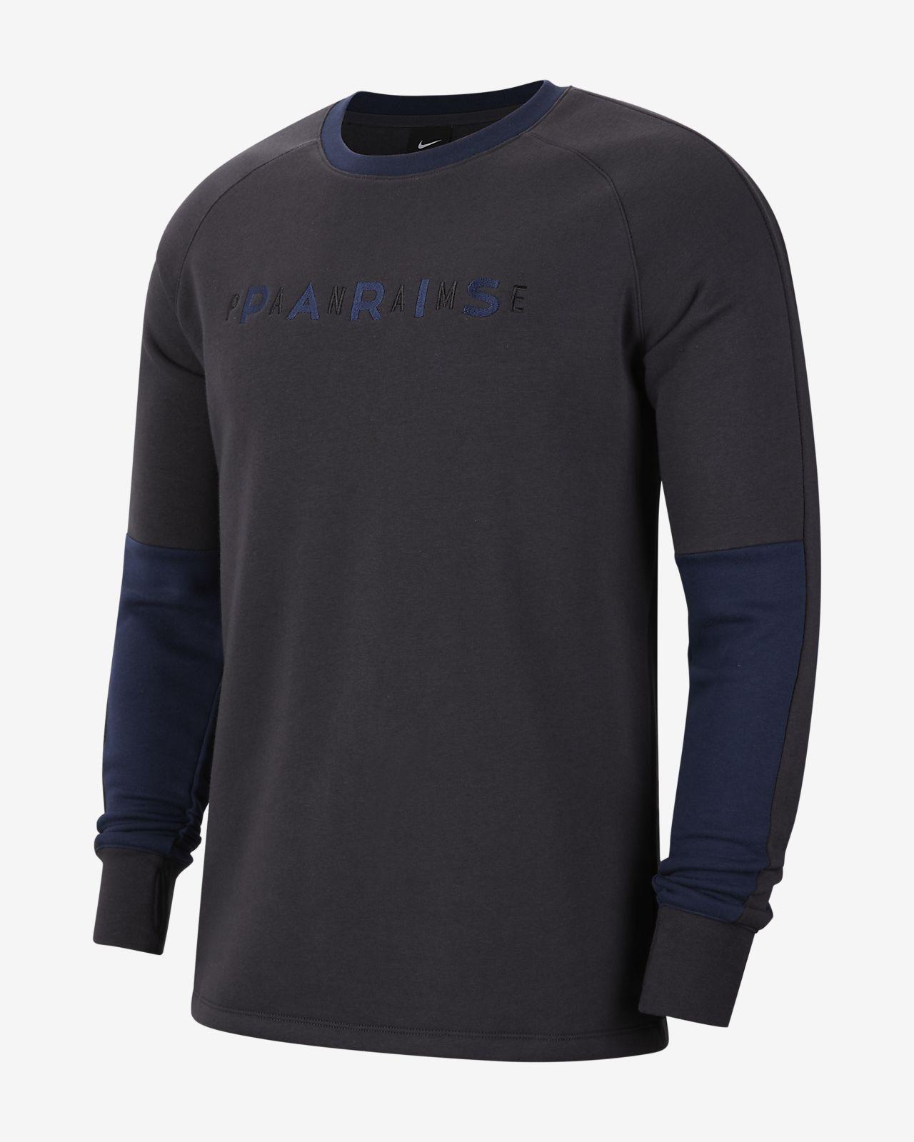Paris Saint-Germain Fleece-Rundhalsshirt für Herren