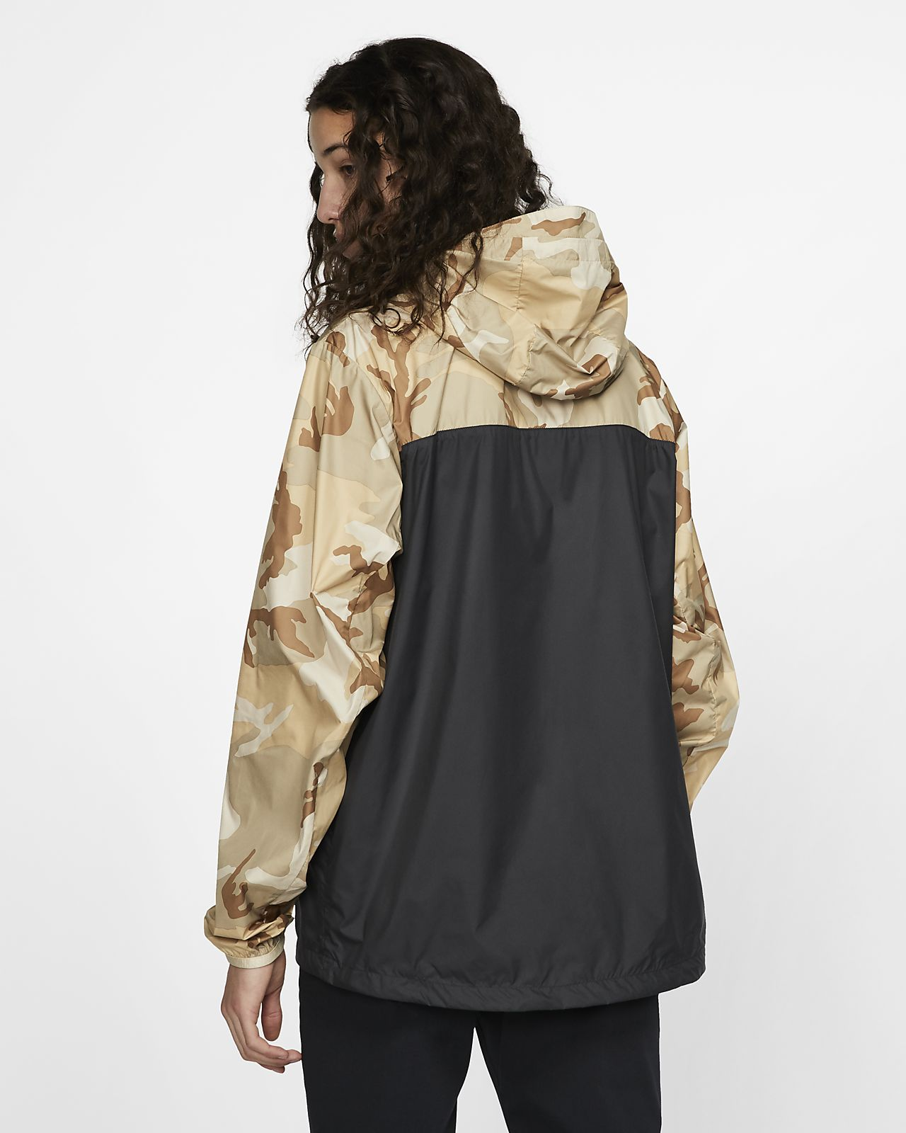 c4425b3eb Nike SB Camo Skate Anorak Jacket