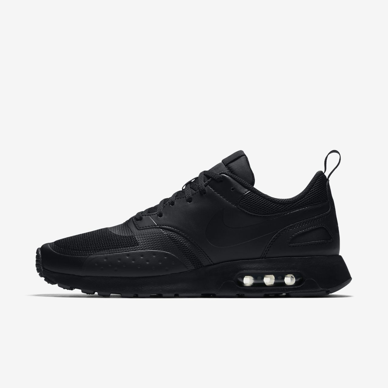 nike air max black and white vision trainers warehouse