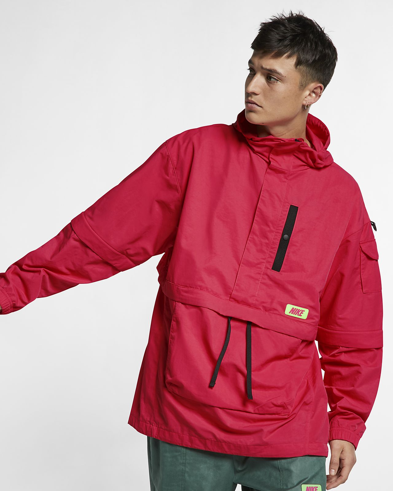 Chamarra anorak Nike Quest