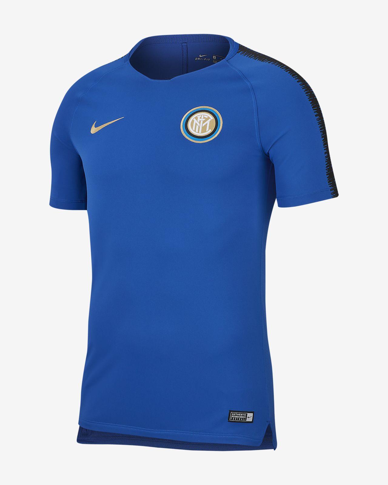Inter Mailand Breathe Squad Herren-Fußballoberteil