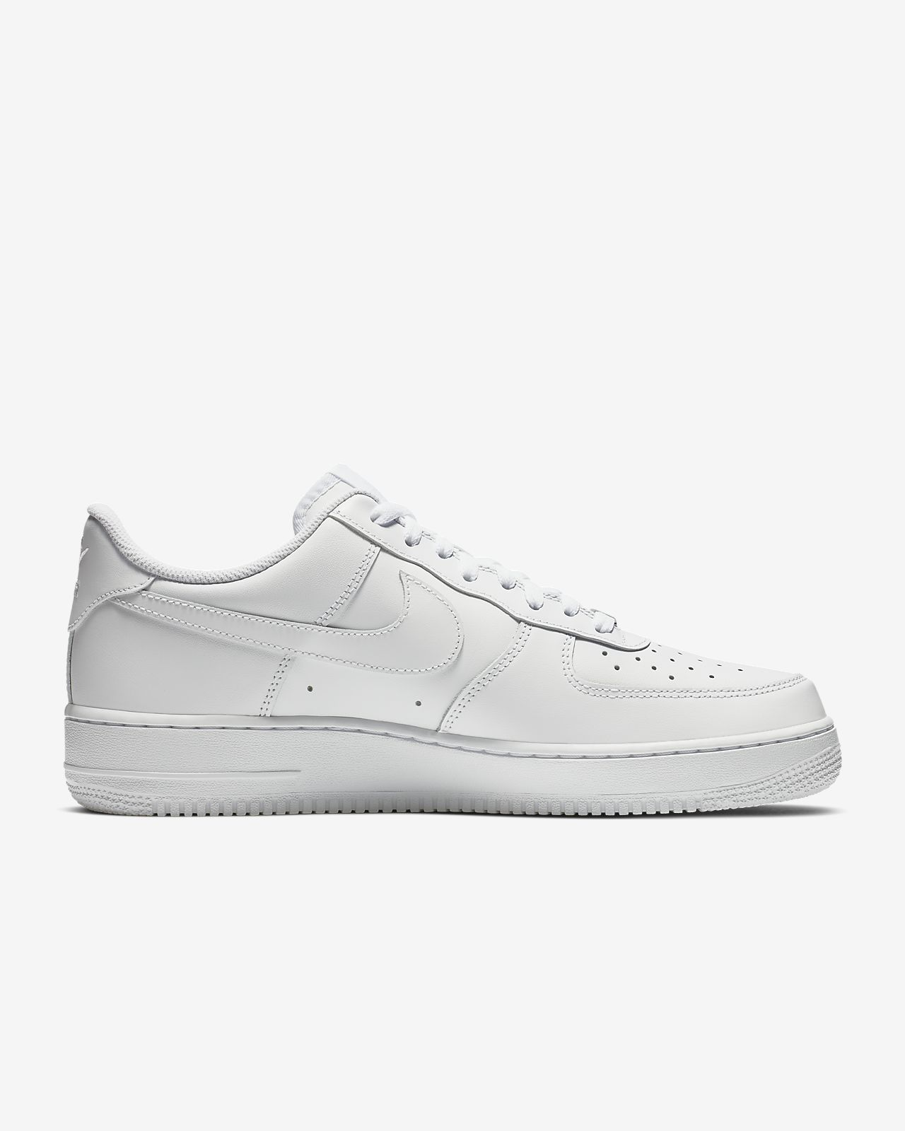Calzado para hombre Nike Air Force 1 '07 Triple White